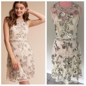 Anthropologie BHLDN Mariposa Dress NWOT